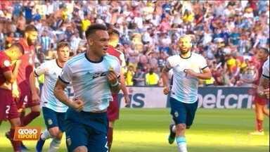 Copa América: Argentina passa pela Venezuela e enfrenta o Brasil na semifinal - Copa América: Argentina passa pela Venezuela e enfrenta o Brasil na semifinal