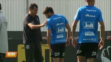 Corinthians se prepara para jogo-treino neste sábado, e Carille espera reforços - Corinthians se prepara para jogo-treino neste sábado, e Carille espera reforços