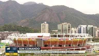 Parque Olímpico abandonado - Contrato com autarquia acabou e ninguém assumiu gerência.