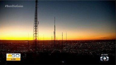 Confira a previsão do tempo para esta quarta-feira (3) em Goiás - Dia deve ser de muito calor.