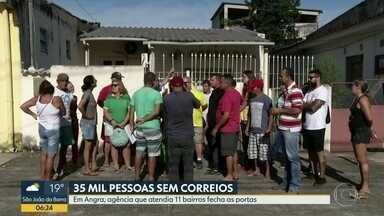 35 mil ficam sem Correios em Angra - Agência que atendia 11 bairros encerrou as atividades definitivamente.