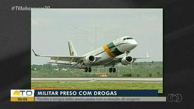 Amigos estão preocupados com situação de militar preso com drogas - Amigos estão preocupados com situação de militar preso com drogas