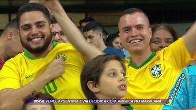 Brasil elimina Argentina e decide a Copa América no Maracanã - Brasil elimina Argentina e decide a Copa América no Maracanã