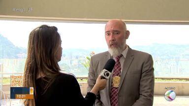 Delegado fala sobre queda no número de homicídios em Juiz de Fora - Rodrigo Rolli apresentou resultados e declarou: 'os autores sabem que aqui em Juiz de Fora tem resposta rápida', ressaltou.