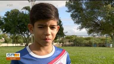 Destaque na Copa TV Grande Rio de Futsal, artilheiro do sub-12 faz testes no Corinthians - João Gabriel Torres de Castro, de 11 anos, passou na primeira fase da seleção para integrar as categorias de base do Corinthians.