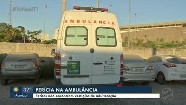 Novidades no caso da ambulância com suspeita de chassi adulterado - Novidades no caso da ambulância com suspeita de chassi adulterado.