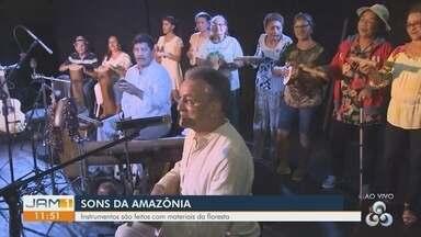 Em Manaus, grupo constrói sons com objetos encontrados na natureza - Conheça mais.