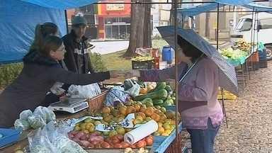 Chegada do frio intenso anima comerciantes de Botucatu - Em Botucatu, uma das cidades mais geladas do Centro-Oeste Paulista, o frio já chegou com força. Neste quinta-feira (4), teve neblina, chuva, e gente muita comprando casacos. Os comerciantes comemoraram a virada do tempo.