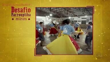 Grupos enviam brincadeiras para a primeira fase do 'Desafio Farroupilha Mirim' - Assista ao vídeo.