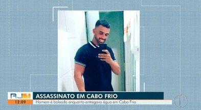 Entregador de água é morto a tiros em Cabo Frio, no RJ - Segundo a Polícia Civil, a vítima não tinha passagem pela polícia.