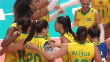 Brasil atropela Turquia na Liga das Nações por 3 x 0 e garantem vaga na decisão contra os EUA - Brasil atropela Turquia na Liga das Nações por 3 x 0 e garantem vaga na decisão contra os EUA