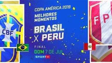 BRA 3 x 1 PER - Final - MM - Copa América