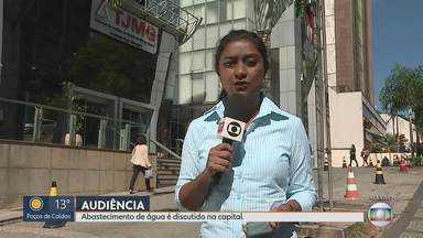 TJMG faz audiência entre Vale e Copasa sobre abastecimento de água em BH após Brumadinho - Na última audiência, ficou determinado que a Vale e a Copasa deveriam apresentar um plano de atuação para o fornecimento de água a fim de evitar um possível desabastecimento em Belo Horizonte.