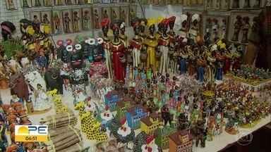 Fenearte reúne diversidade de materiais e técnicas do artesanato em Olinda - Feira ocorre no Centro de Convenções de Pernambuco, em Olinda.