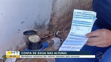 Ar nas torneiras e contas de água mais caras em Tangará da Serra - Ar nas torneiras e contas de água mais caras em Tangará da Serra