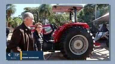 Ministra Tereza Cristina participa do lançamento do Plano Safra 2019/2020 em MS - Tereza Cristina participou também de entrega de 101 patrulhas mecanizadas.