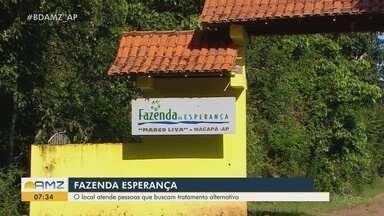 Inaugurado há um ano, conheça o trabalho realizado pela Fazenda da Esperança no Amapá - Local atende pessoas que buscam tratamento alternativo para vícios.