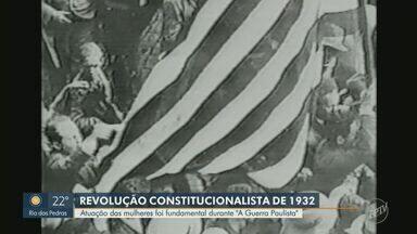 Moradores da região fazem homenagem aos combatentes da Revolução Constitucionalista - Feriado em homenagem ao conflito entre Minas e São Paulo nesta terça-feira.