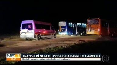 Vistoria apreende armas de fogo, facas, celulares e bebidas em penitenciária em Itamaracá - Além da revista, detentos da Penitenciária Barreto Campelo foram transferidos para outras unidades prisionais em Pernambuco.