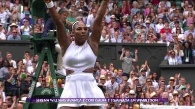 Serena Williams avança e sensação Coi Gauff é eliminada em Wimbledon - Serena Williams avança e sensação Coi Gauff é eliminada em Wimbledon