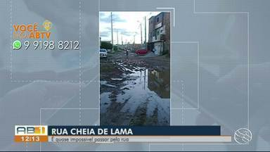 Você no ABTV mostra problemas em Caruaru, Sertânia e Toritama - Moradores reclamam de ruas esburacadas e mosquitos.