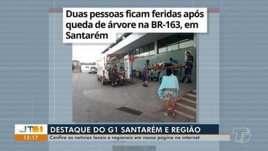 Acidente na BR-163 é destaque no G1 Santarém e região - Confira esta e outras notícias acessando o portal.