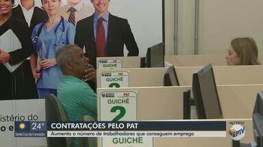 Aumenta em 20% o número de trabalhadores que conseguem emprego pelo PAT de Araras - Apenas no mês de junho, 42 vagas foram preenchidas na cidade.