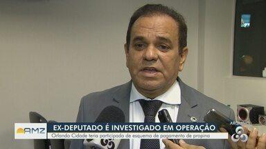 Conversas interceptadas de ex-deputado indicam interferência em desmatamento ilegal no AM - Três mandados de busca e apreensão foram cumpridos em Manaus e em Manacapuru.