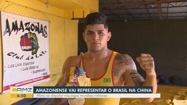 Jovem atleta amazonense vai representar o Brasil em competição na China - Atleta vai disputar nos jogos mundiais militares.