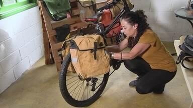 Viagem para a Europa rende ideia de negócio sustentável para empresária - Patrícia Vilas decidiu empreender no segmento de bicicletas e da sustentabilidade e passou a produzir bolsas e alforjes para bikes.