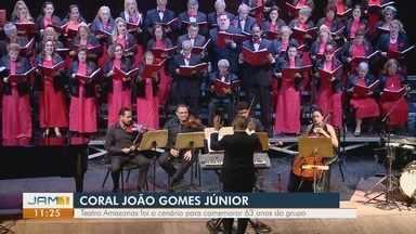 Coral João Gomes Júnior realiza apresentação no Teatro Amazonas - undefined