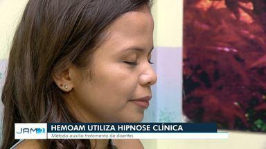 Hemoam usa hipnose em clínica de Manaus - Hemoam usa hipnose em clínica de Manaus