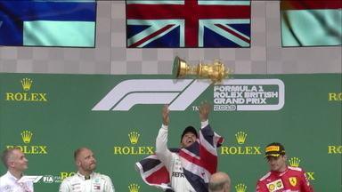 Lewis Hamilton vence o GP da Inglaterra de Fórmula 1 - Lewis Hamilton vence o GP da Inglaterra de Fórmula 1