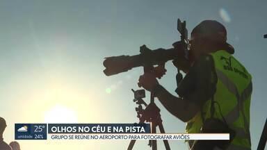 Aeroporto de Brasília abre pista para cliques de fotógrafos profissionais e amadores - Foi a quinta vez que a Inframerica promoveu o Spotter Day.