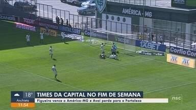 Roberto Alves analisa os confrontos dos times catarinenses nos campeonatos - Roberto Alves analisa os confrontos dos times catarinenses nos campeonatos
