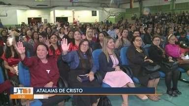Atalaias de Cristo reúne milhares de fiéis em Cajati, SP - 21ª edição de evento evangélico foi promovida no Ginásio de Esportes de Cajati.