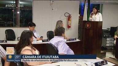 Câmara de Ituiutaba aprova liberação de recursos para o Hospital São José - Vereadores também discutiram, nesta segunda-feira (15), o pedido de afastamento do prefeito da cidade, Fued Dib, protocolado pelo legislador Jorge Carteiro.