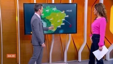 Confira a previsão do tempo para todo o país nesta quarta-feira - O centro do Brasil ainda está bem seco e deve continuar assim nas próximas semanas.