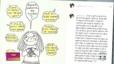 Fátima mostra posts sobre depressão de Alline Araújo - Blogueira ficou conhecida por assumir a doença e cometeu suicídio depois de ter o casamento cancelado em cima da hora