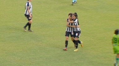Sochor recebe passe de Sole Jaimes e marca um golaço de cobertura - Iranduba 0 x 5 Santos