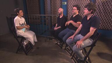 Integrantes do Skank apresentam projeto paralelo - Conheça o Trio Nie Meyer, que estreia com a participação de Milton Nascimento.