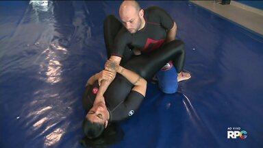 Defesa pessoal para mulheres - Mais de 40% das agressões sofridas pelas mulheres acontecem dentro de casa. Instrutora de Jui Jitsu fala das artes marciais para se defender de agressões.