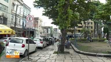 Motoristas enfrentam dificuldades para usar o aplicativo da Zona Azul no Recife - Sistema digital começou a funcionar no dia 1º de julho.