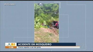 Homem morre em acidente na estrada de Mosqueiro - Homem morre em acidente na estrada de Mosqueiro