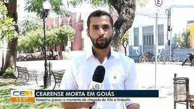 Família recebe ameaça de homem suspeito de matar cearense em Goiás - Saiba mais em g1.com.br/ce