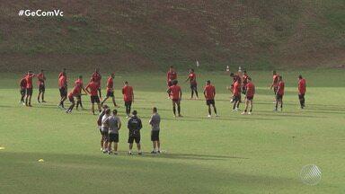 Vitória joga e espera vencer o Criciúma nessa sexta-feira, 19 - Essa semana a equipe rubro-negra fez apenas treinos fechados.
