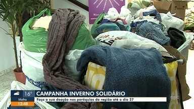 Campanha Inverno Solidário segue até o dia 27 - Campanha Inverno Solidário segue até o dia 27