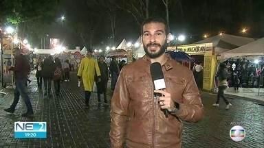 Shows e eventos marcam mais uma noite no Festival de Inverno de Garanhuns - Moradores e turuistas aproveitam festejos no Agreste