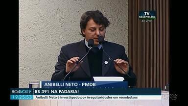 Justiça manda bloquear R$ 170 mil reais do deputado Estadual Anibeli Neto - Anibelli Neto é investigado por irregularidades em reembolsos de gastos com alimentação.