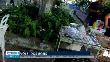 Amigos fazem do vôlei momento de reencontro no Cariri - Confira mais notícias em g1.globo.com/ce